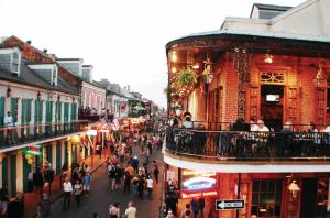 Clima húmedo y subtropical de Nueva Orleans.