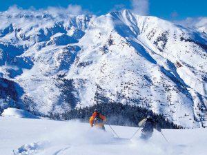 Invierno en Estados Unidos, Condado de Pitkin - Oeste de Colorado.