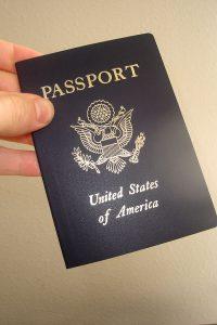 Pasaporte de Estados Unidos.