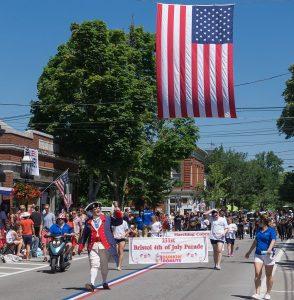 Celebraciones por el Día de la Independencia de los Estados Unidos.