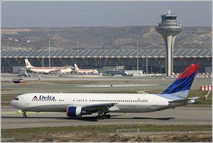 Aviones en Estados Unidos