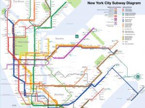 mapa de new york fotos