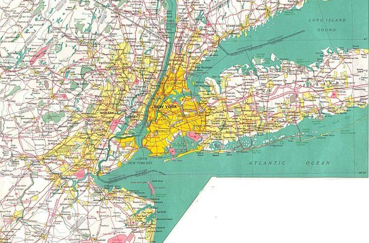 Mapa De Nueva York Turismoeeuu Distritos Poblacion Imagenes
