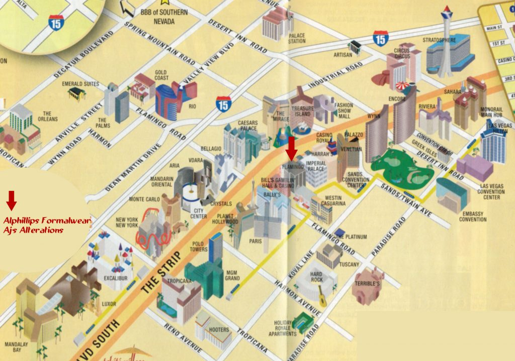 Mapa de las vegas turismoeeuu - Hotel las gaunas en logrono ...