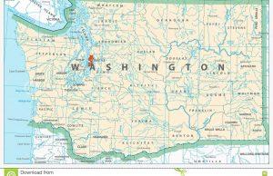 Mapa de Washington DC