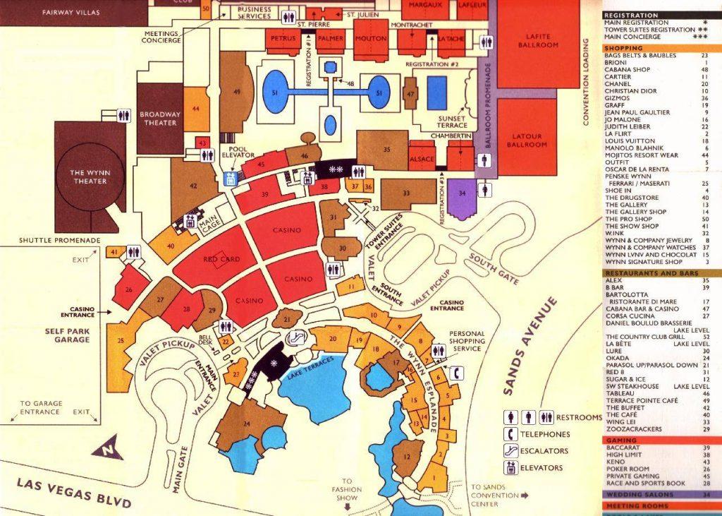 Mapa De Las Vegas Turismoeeuu