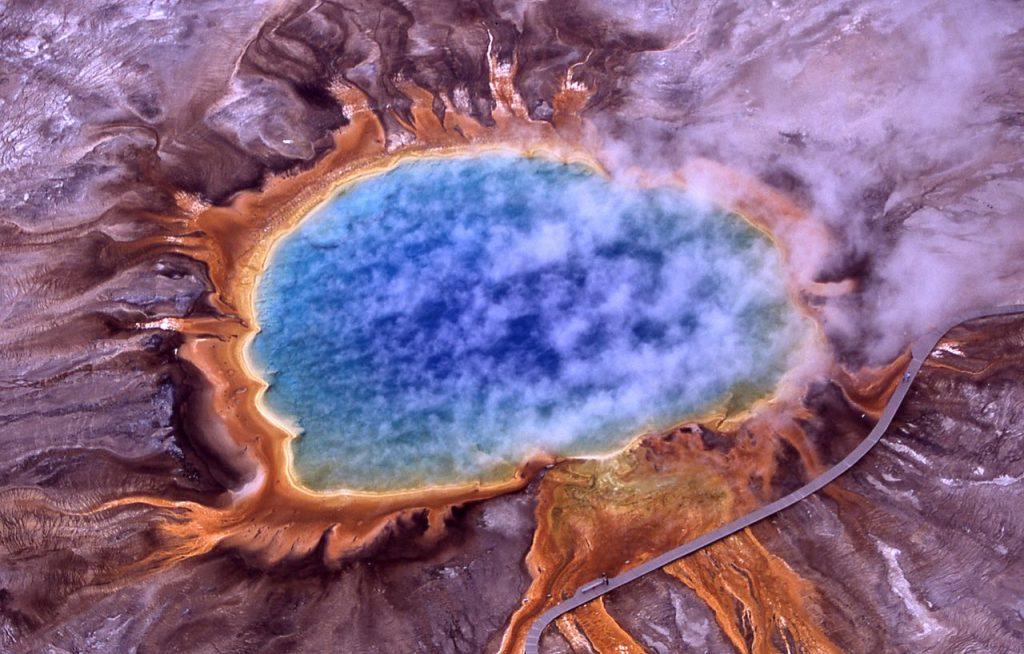 Aguas termales de Yellowstone