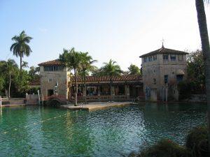 Piscina veneciana de Florida, Miami.