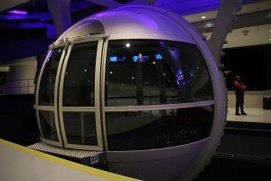 Cabina de Pasajeros de la Rueda de la Fortuna de Las Vegas.