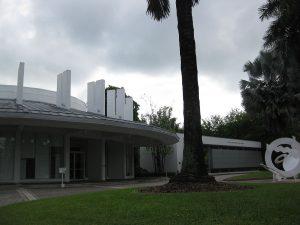 Fachada del Museo de Arte Lowe en Miami.