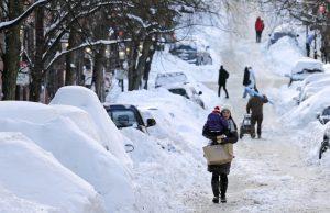 Estados Unidos en invierno