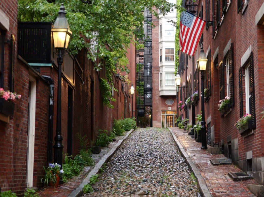 ruta turistica de nueva york a boston