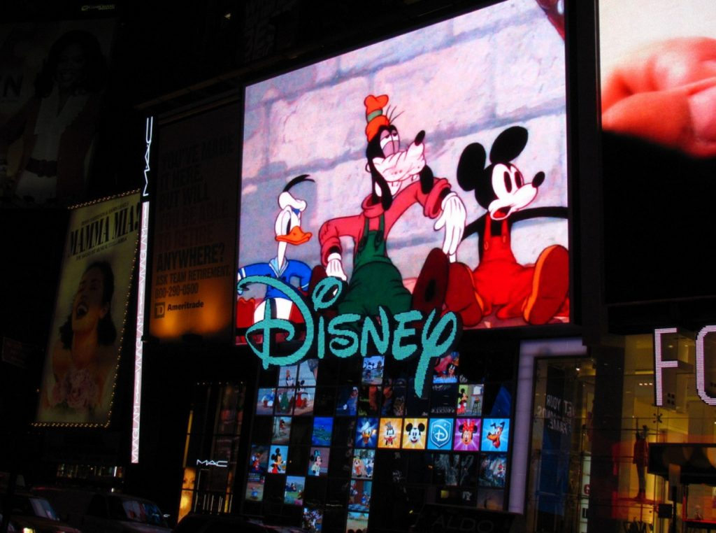 Disney en Time Square